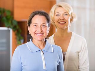 Beautiful senior women