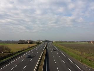 Autostrada deserta