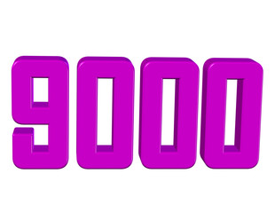 pembe renkli 9000