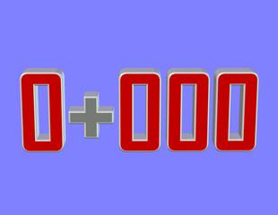 kırmızı renkli 0+000