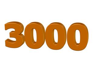 kahve renkli 3000