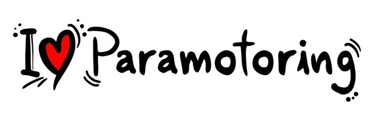 Paramotoring love