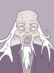 Old man halloween