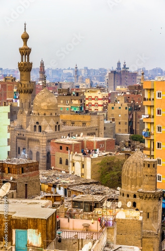 In de dag Egypte View of Islamic Cairo - Egypt