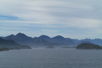 Neuseeland Fjorde