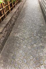 神楽坂 日本 石畳