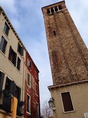 camanario en Venecia