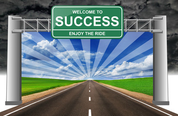 welcome to success enjoy the ride