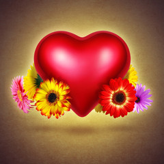 Flowery Heart
