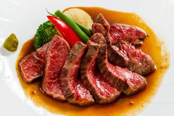フィレステーキ 和牛 食べ物