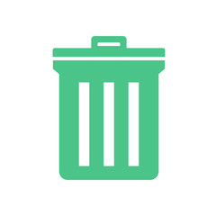 Unwanted Data Computer Waste Icon Vector Concept
