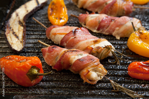 Bacon-Wrapped Chicken Tenders - 76777119