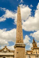 Obelisk in Piazza del Popolo, Rome