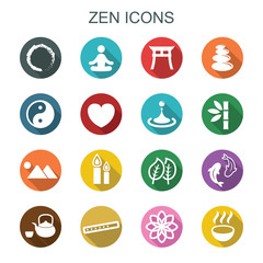 zen long shadow icons