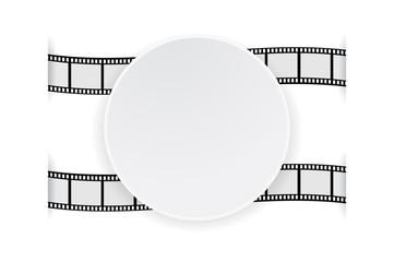 banner paper on film strip