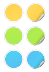 sticker icon round