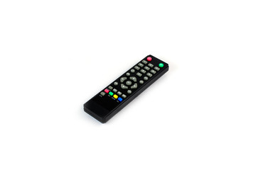 Black TV remote