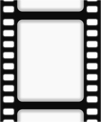 film strip frame background abstract