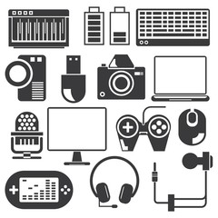 computer and gadget icons