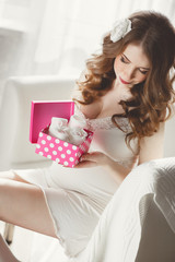 Expensive gift for a pregnant woman.