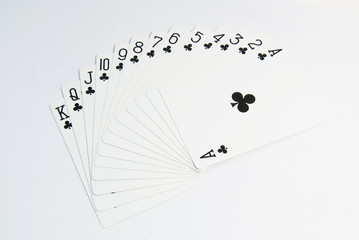 ace poker cards set