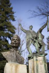partisans, statue in daruvar