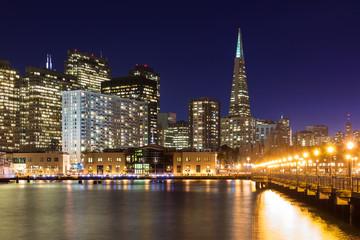 Beautiful San Francisco at Night