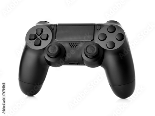 video game controller isolated on white background - 76795165