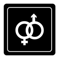 Vector gender symbol sign