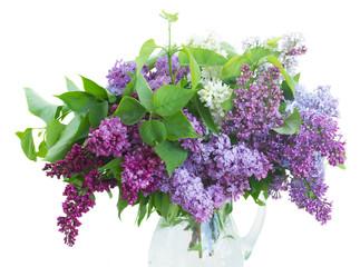 Lilac in vase
