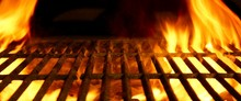 "Постер, картина, фотообои ""BBQ or Barbecue or Barbeque or Bar-B-Q Charcoal Fire Grill"""