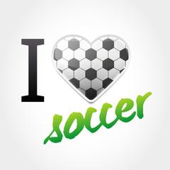Soccer Love Background