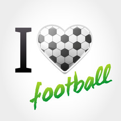Football Love Background