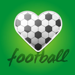 Football Love Backround