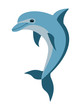 cartoon dolphin - 76798500