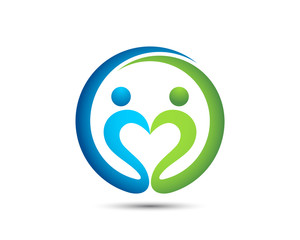 Love People Logo Template
