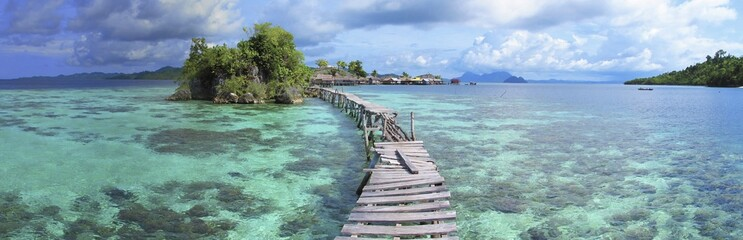 Bajo village, Togean Islands, Indonesia