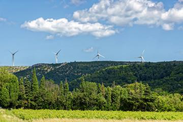 Paysage éoliennes