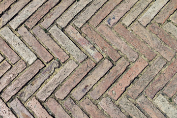 Floor with brick