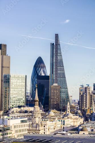 Beautiful london skyline - 76800991