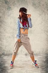 Frau Hip Hop
