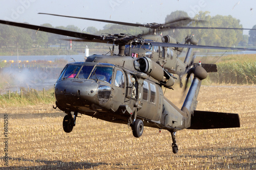 Foto op Canvas Helicopter US Army helicopters