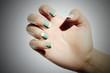 manicure.female hand.woman.shellac polish.nail design
