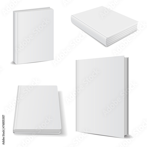 book blank set poster