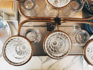 Drip Coffee, Glass Kits Vintage style