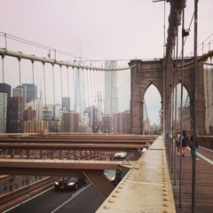 Movement on Brooklyn Bridge