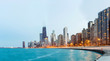 Chicago Panorama Lake Michigan