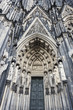 canvas print picture - Cologne Cathedral