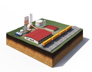 gravel production factory