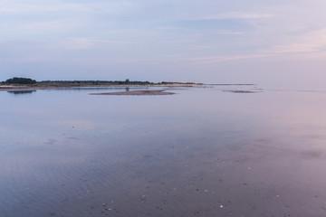 Sonnenaufgang am Strand auf Darss